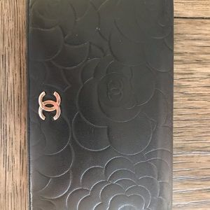 CHANEL Bags - Authentic Chanel Bi-Fold Lambskin wallet